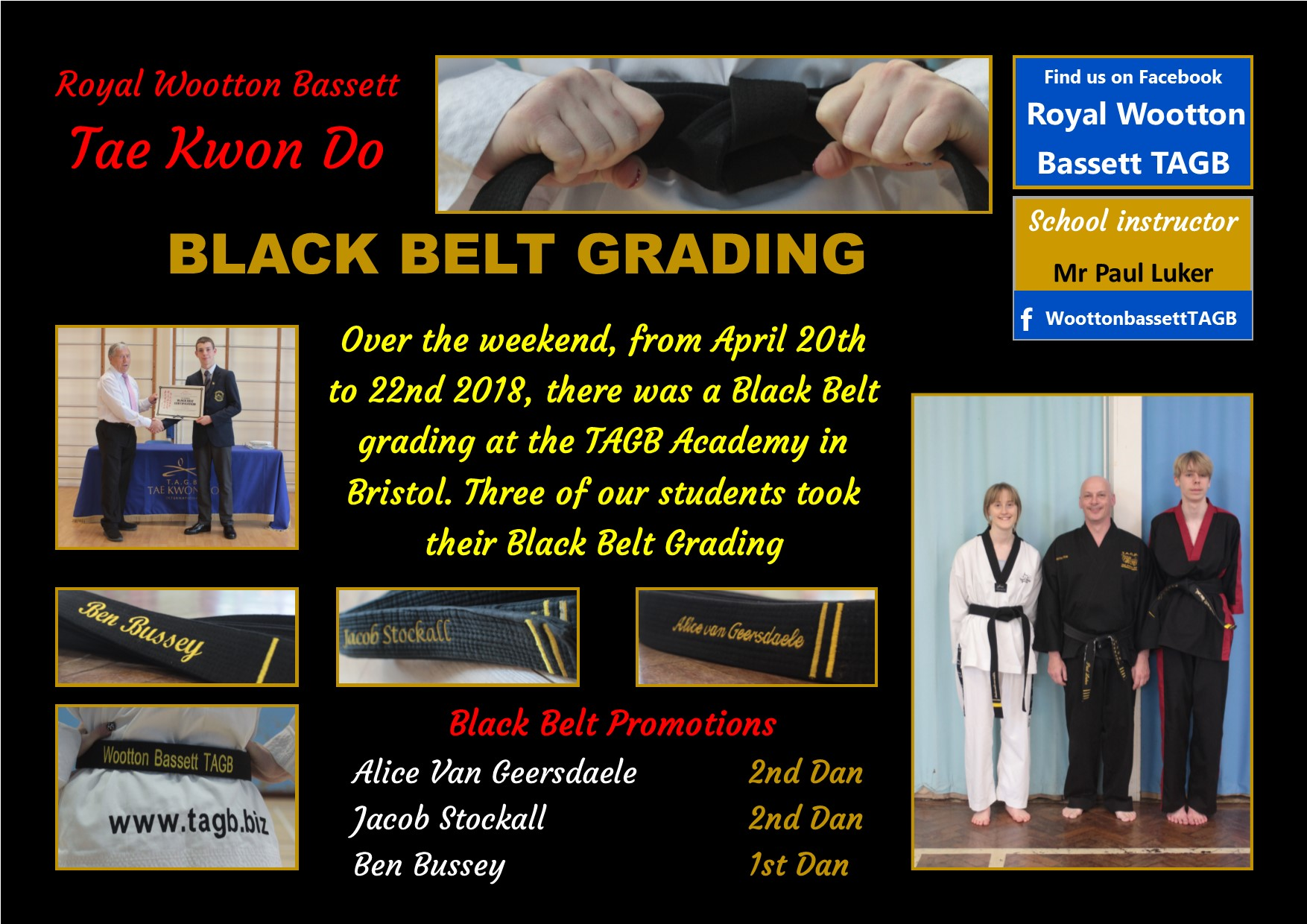 website Black grading April 18