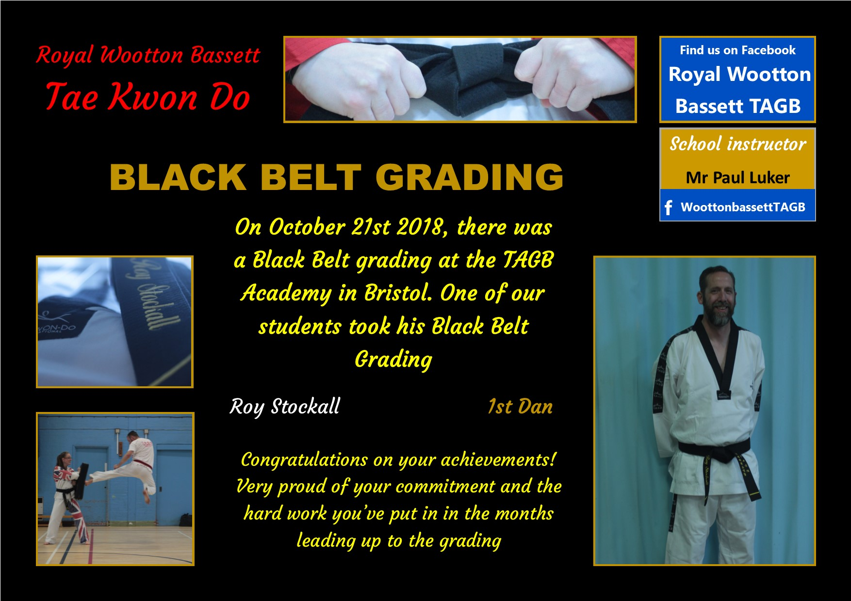 website Black grading October 18