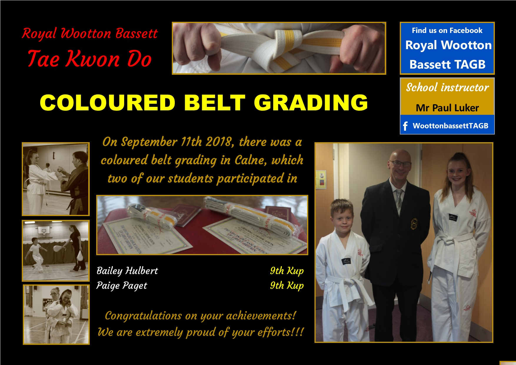 website grading September 18